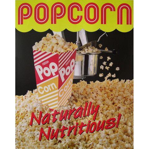 Popcorn Poster Nat-Del #2988