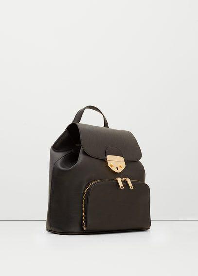Mango Outlet Front pocket backpack
