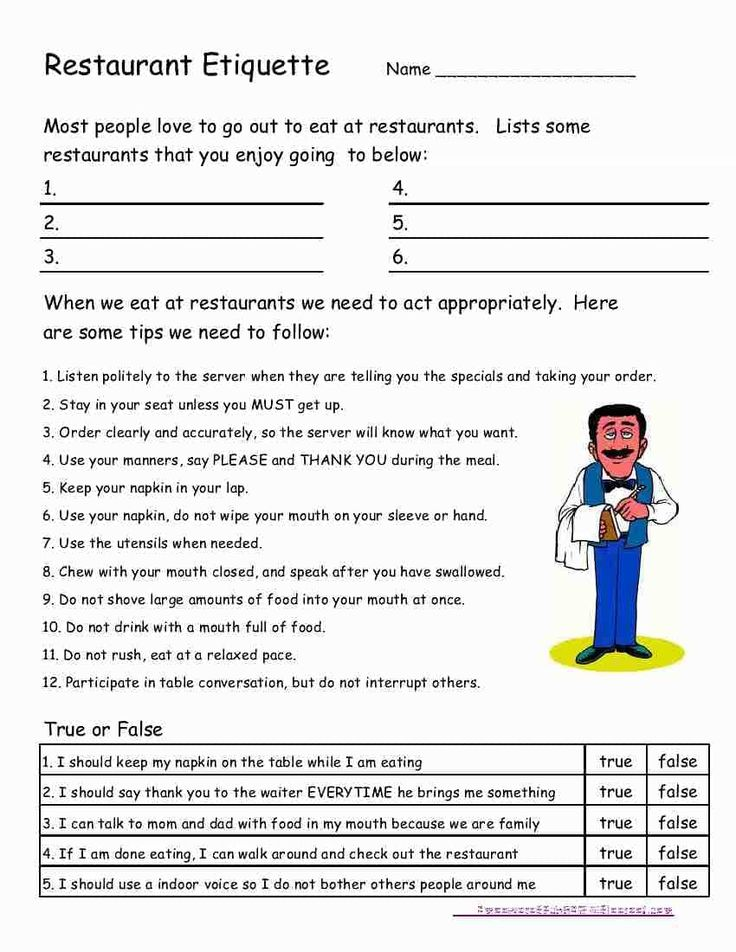 Free Life Skills Worksheets For Highschool Students And