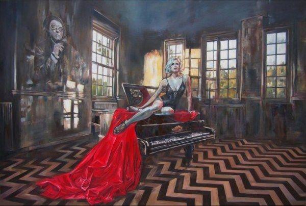 Сюрреалистические картины в разных стилях Януша Ожеховски (16 работ)