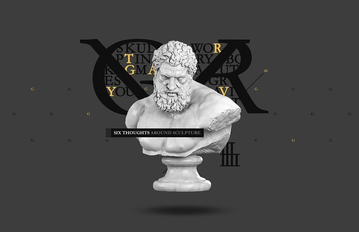 Six Thoughts Around Sculpture on Behance
