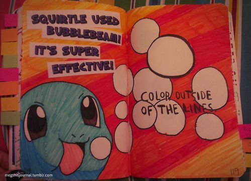 Color Journal Ideas : 19 best wreck this journal images on pinterest