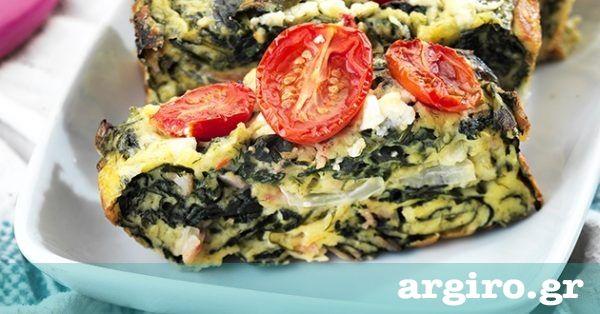 Σπανακόπιτα χωρίς φύλλο από την Αργυρώ Μπαρμπαρίγου   Φτιάξτε αυτή την καλοκαιρινή, εύκολη σπανακόπιτα και απολαύστε την όλες τις ώρες. Είναι τέλεια!