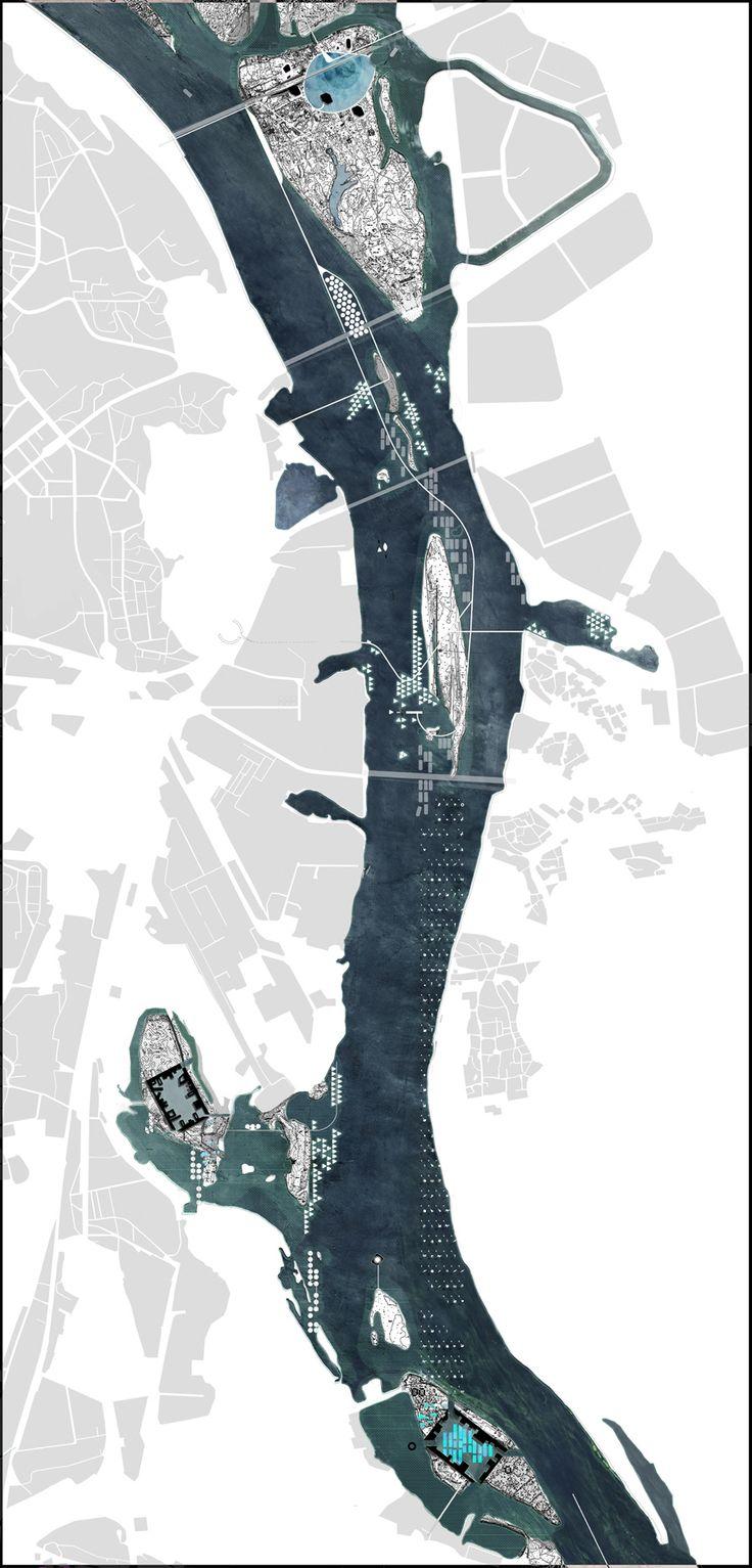 masterplan | Tactical Archipelago, Kiev Islands | Luis Callejas, Melissa Naranjo and Manon Mollard of LCLAOFFICE