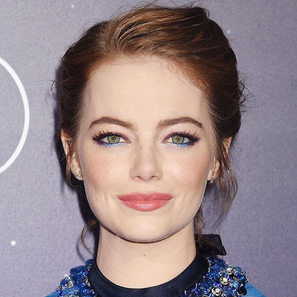 Emma Stone Just Wore The Prettiest Eyeliner We've Ever Seen