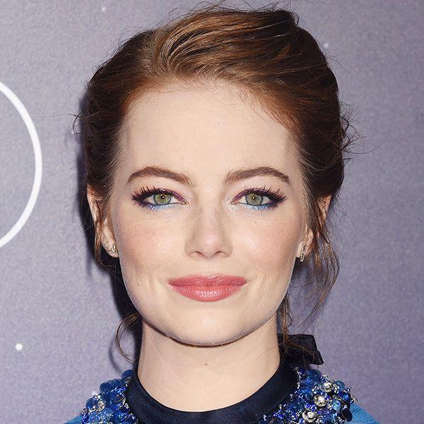 Emma Stone Just Wore The Prettiest Eyeliner We've Ever Seen
