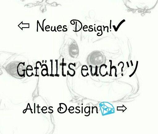 #NewDesign&OldDesign!!