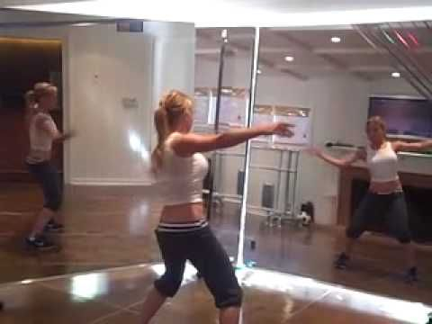 The Tracey Anderson Method.  When I am less sick, I'm going to be all over this exercise routine.