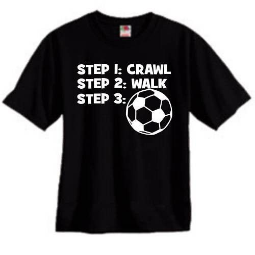 CRAWL WALK SOCCER Clothing on ArtFire