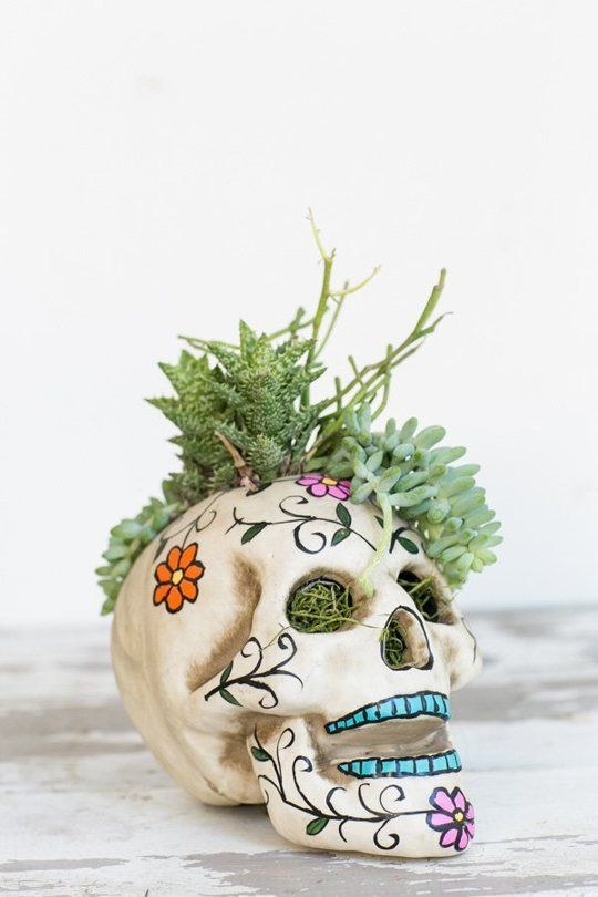 Spooky Style: 9 Day of the Dead DIY Decor Projects