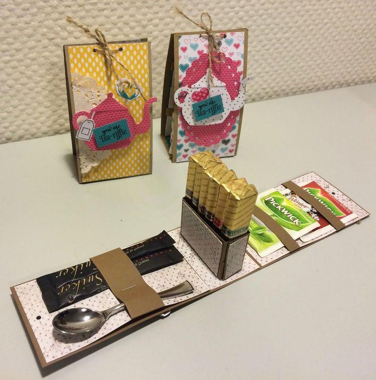 Laura's Creative Moments: YOU'RE TEA-RIFFIC - MERCI GIFT BOX TUTORIAL #giftboxes