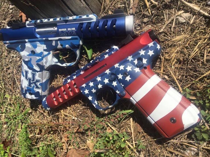 Ruger fan, Marty M., shared this pic of his Ruger 22/45 LITE pistols & we thought we would share it with our fans & followers on this Election Day! #ruger #pistol #election2016 #gunvote #vote #america #2ndamendment #usa #2a