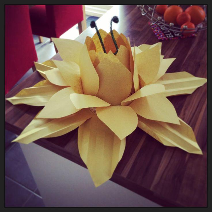 Easter bonnet daffodil hat :)