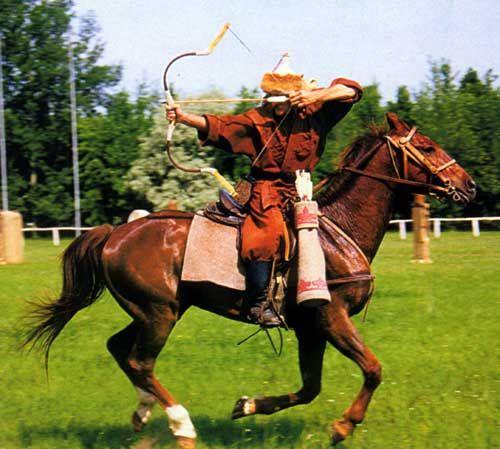Hungarian horseback archery