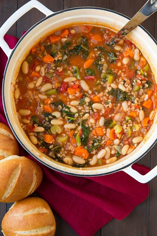 It's true, I might be a little crazy about soups lately, and I'm sure I'll have many more to share the next few monthsbecause when it's 10 degrees outside