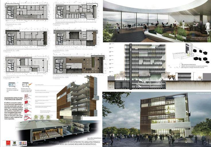 Galería - López y Montoya Arquitectos, mención honrsosa en concurso de diseño de la Alcaldía de Ciudad Bolívar - 8