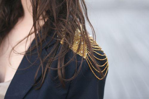 shoulder.
