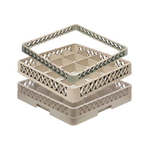 Beautiful Traex Compartment Extender Open Beige Cup Rack by Traex Corp