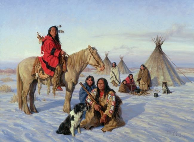 Forgotten Skills That Helped The Native Americans Survive Winter