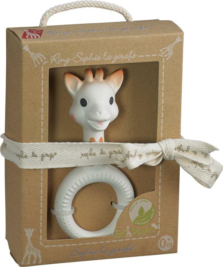 Giraffen Sophie Bitring - Naturgummi - Ring - Lapland Eco Store - Ekologiskt & Giftfritt