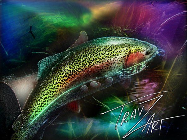 17 best images about travzart on pinterest fish for Fly fishing art