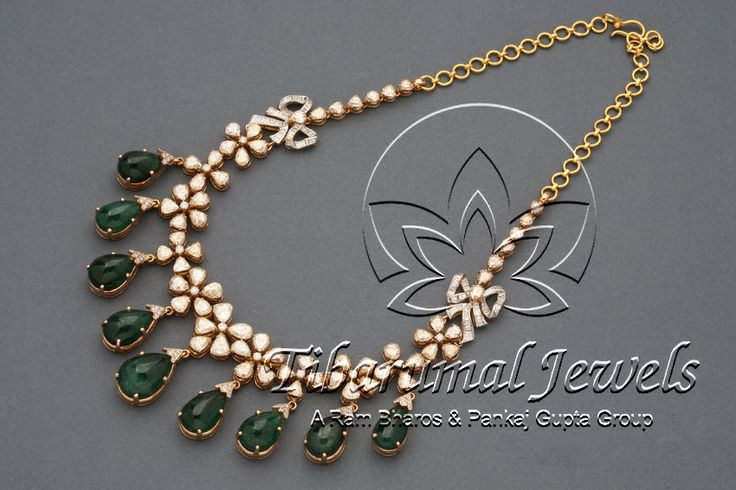 Diamond Necklace | Tibarumal Jewels | Jewellers of Gems, Pearls, Diamonds, and Precious Stones
