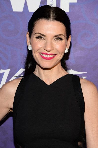 Julianna Margulies Half Up Half Down - Julianna Margulies sported a classic and…