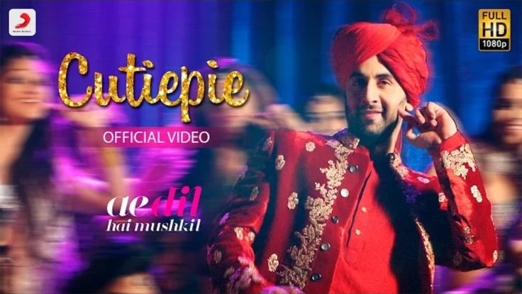 Cutiepie song HD video from Ae Dil Hai Mushkil (ADHM) movie ft Ranbir