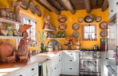"""Stunning Southwestern Styled Kitchen! Click the image for more information on """"Southwestern Kitchen Style"""" by Kitchen Bath Trends"""