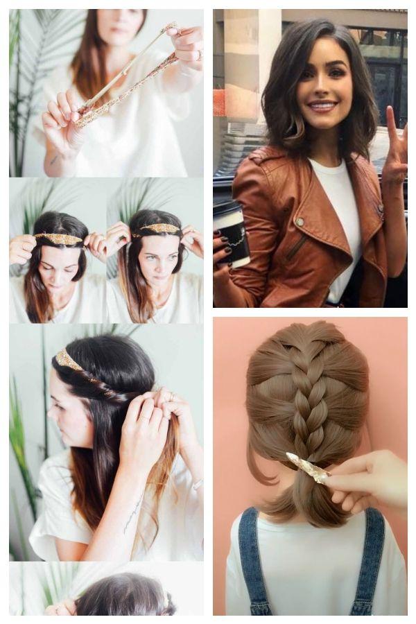Easy Hairstyles For Church Hair Hairstyles Medium Minute Quic 5minutehairstyleforsch Einfachefrisuren Hair Styles Easy Hairstyles Church Hairstyles