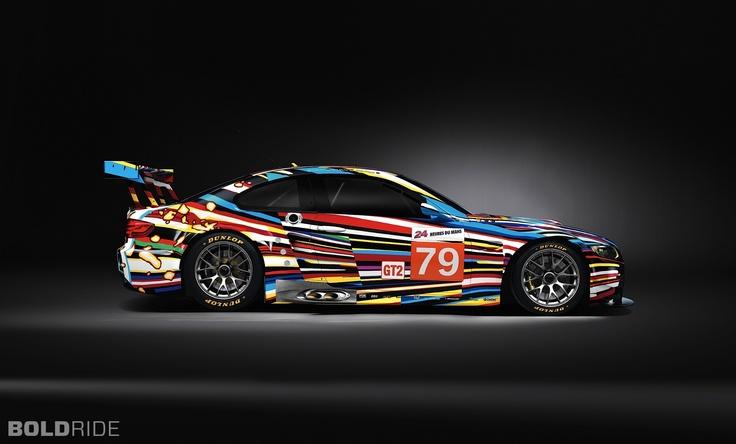 2010 BMW M3 GT2 Jeff Koons