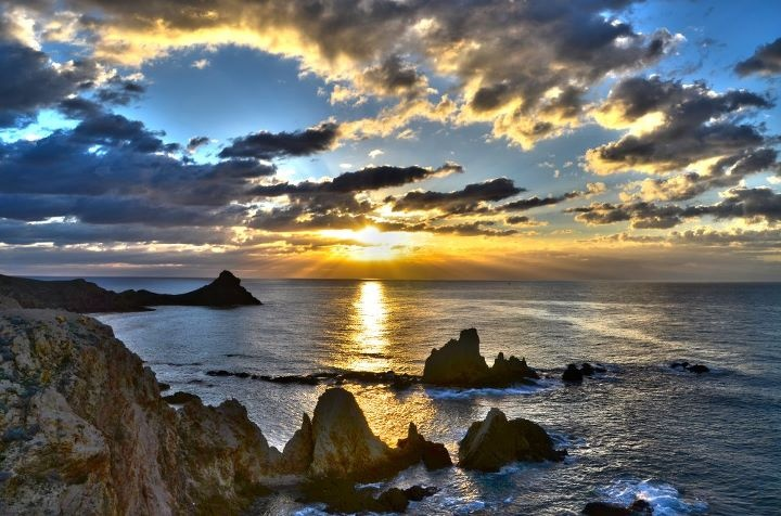 a beautiful photo of the Arrecife de las Sirenas, Cabo de Gata  photographer Jorge Jimenez Rapallo