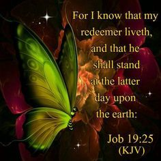 Job 19:25 | 1000+ images about KJV Verses on Pinterest | Psalms, The lord and ...
