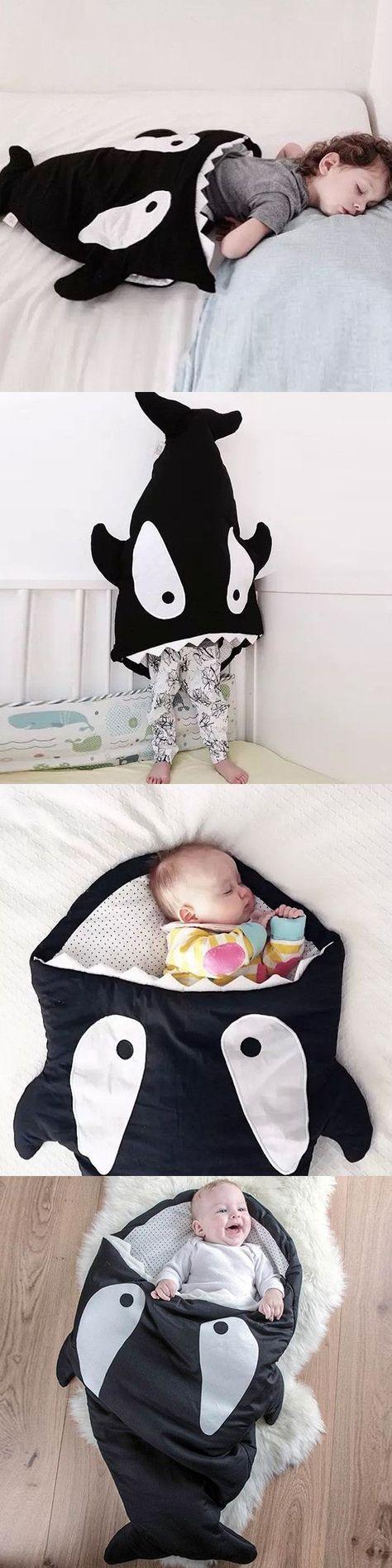 Manta de tiburon bebé