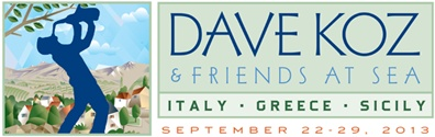 Dave Koz Smooth Jazz Cruise 2013 Italy, Greece & Sicily Mediterranean Cruise
