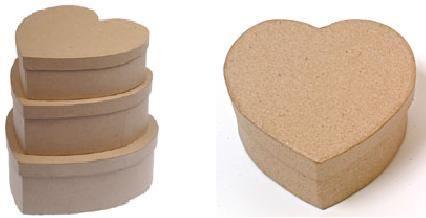 Cajas románticas, muy fáciles de hacer