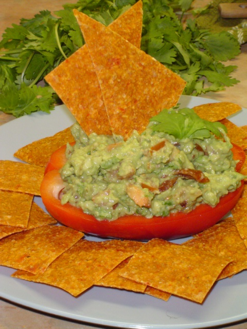Low carb 'Tortilla' Chips