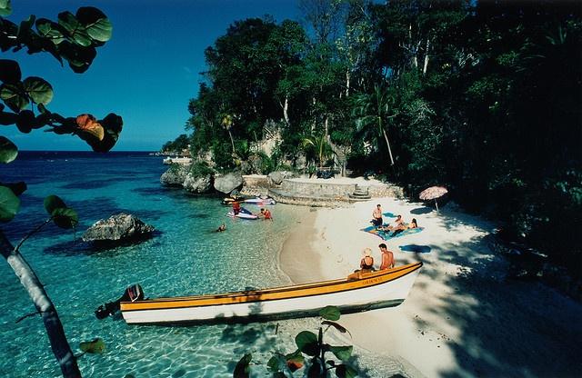 Fleming Beach -- GoldenEye Resort, Jamaica