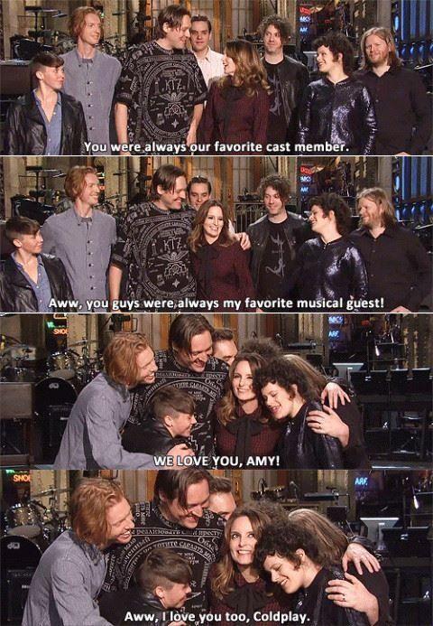 SNL - Tina Fey and Arcade Fire