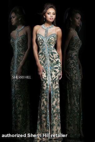 21036 sherri hill white dresses