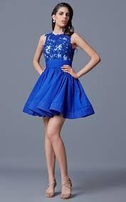 Image result for blue semi formal dresses