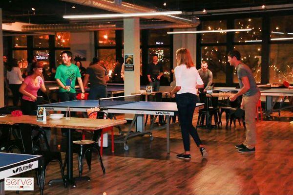 7 Unique Hamilton Venues - Serve Ping Pong Bar Hamilton