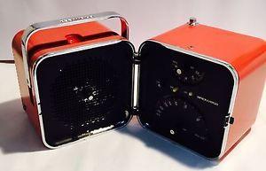 Radio Vintage Cubo BRIONVEGA  TS 502 ARANCIONE 1 Versione Design Marco Zanuso | eBay