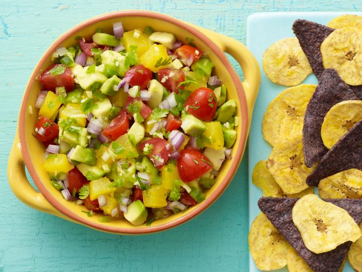Avocado Salsa from Trisha Yearwood. Great summer recipe! Love the idea of adding pineapple.