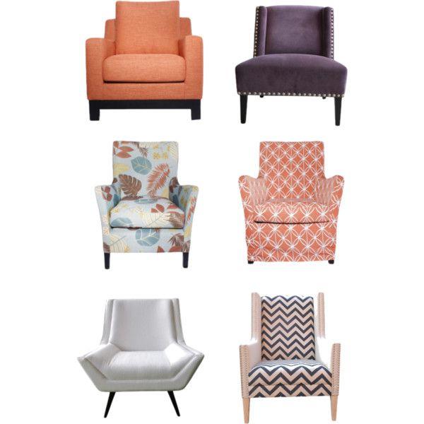 """Chair love"" by livingedgeinteriors on Polyvore"