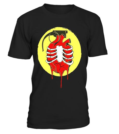 """# Heart Grenade Goth Emo Catch Biology Tattoo Flash Funny Tee .  Special Offer, not available in shops      Comes in a variety of styles and colours      Buy yours now before it is too late!      Secured payment via Visa / Mastercard / Amex / PayPal      How to place an order            Choose the model from the drop-down menu      Click on """"Buy it now""""      Choose the size and the quantity      Add your delivery address and bank details      And that's it!      Tags: This funny t-shirt that…"""