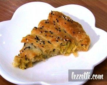 Patatesli Börek nasıl yapılır? Resimli tarifle yapmayı öğrenin. Fotoğraflı tarifle Patatesli Börek yapın.