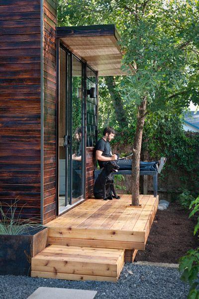 Sett Studios. A wonderful garden studio.
