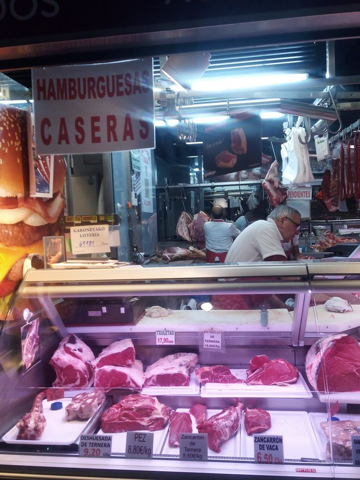 Carnicería Rodo, Mercado de la Ribera, Bilbao