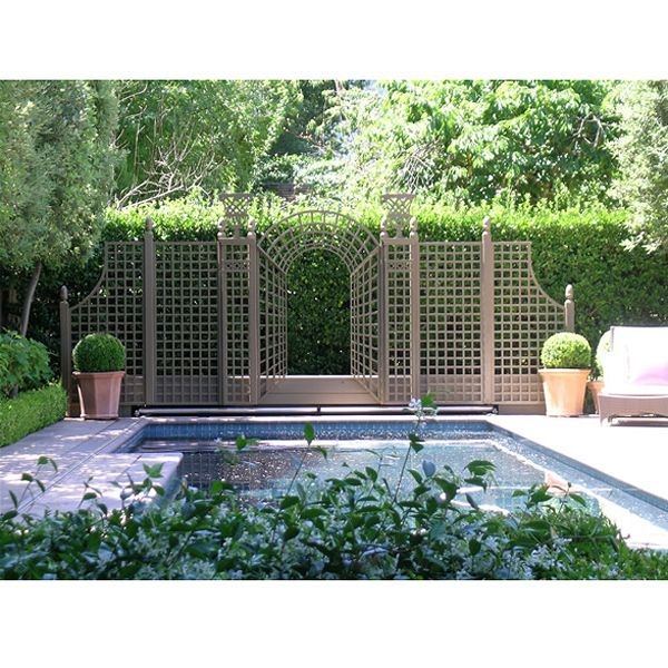 358 best images about landscape design on pinterest for Outdoor lattice privacy screen